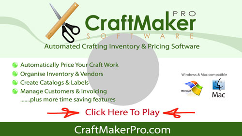 Craft Maker Pro Inventory And Pricing Craft Software - Invoice making software free online fabric store coupon